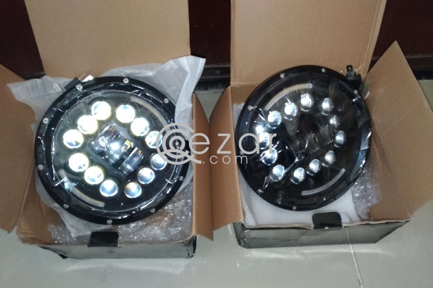 Wrangler jeep LED Headlights (New) photo 2