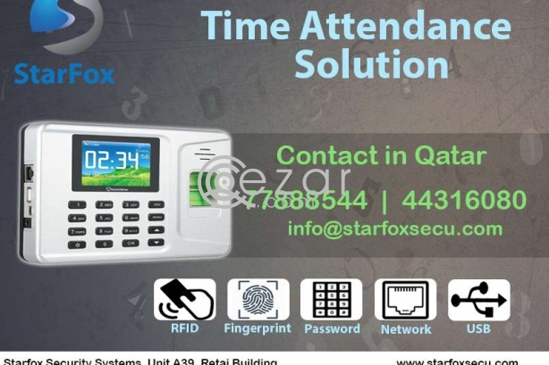 High quality time attendance system photo 1