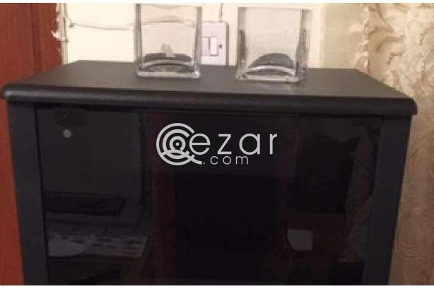 Glass door cabinet- New photo 1