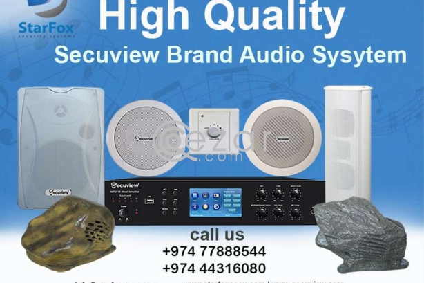 HIGH QUALITY AUDIO SYSTEM photo 1