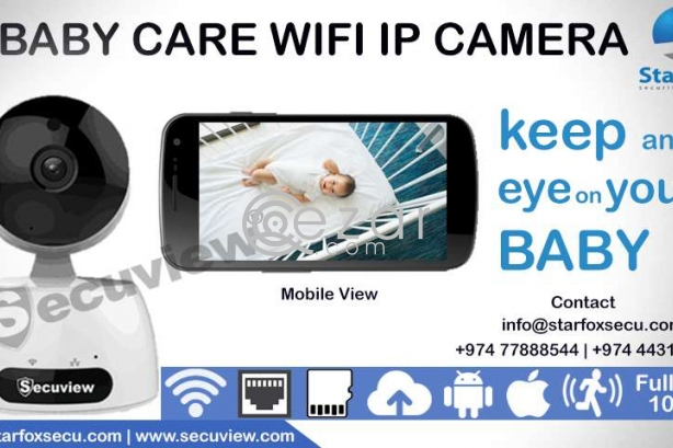 baby care security WiFi  camera photo 1