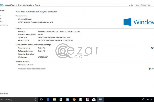 HP Cpu + BenQ ET-0022-NA - LCD monitor - Full HD photo 4