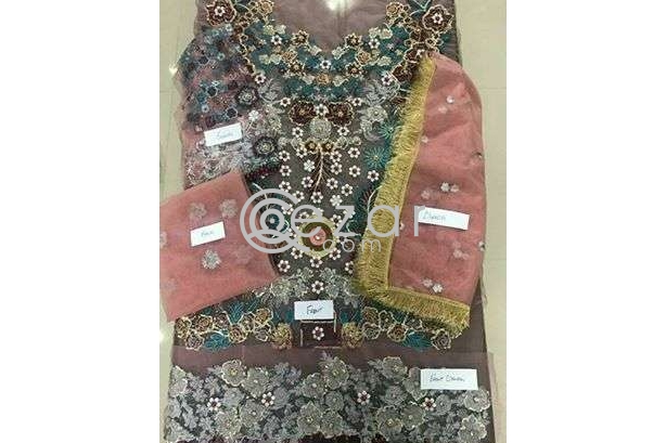 On hand heavy and Lawn dresses photo 5