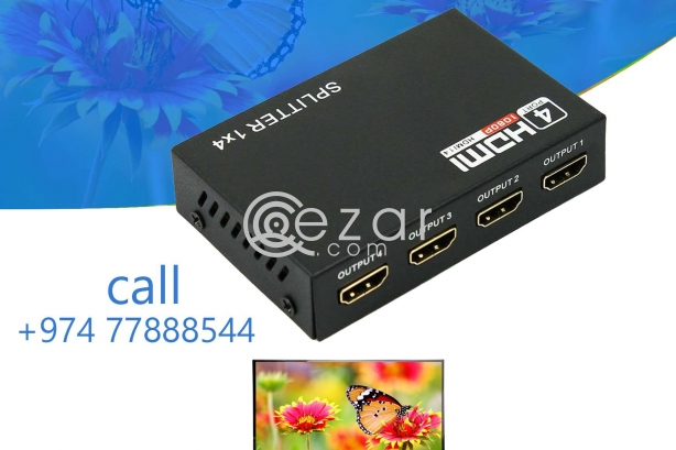 4 port HDMI splitter photo 1