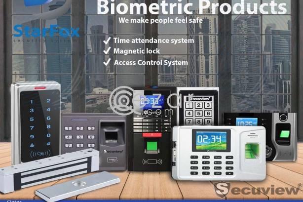 Time attendance, access control, magnetic door lock, RFID photo 1
