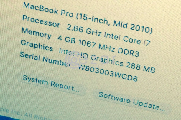 Macbook pro I7 photo 3