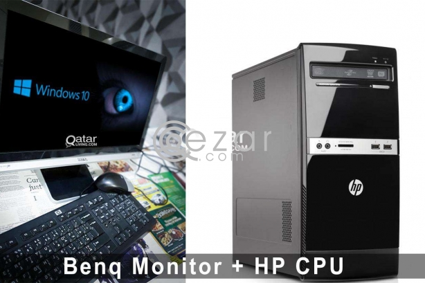HP Cpu + BenQ ET-0022-NA - LCD monitor - Full HD photo 2