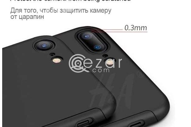 360 Degree Full Protection for iPhone 8 and 8+, Iphone 7 & 7+, IPhone 6 & 6+ With TEMPERED GLASS. photo 3