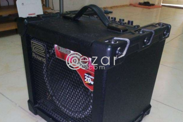 Roland cube bass guitar amp 20w photo 4