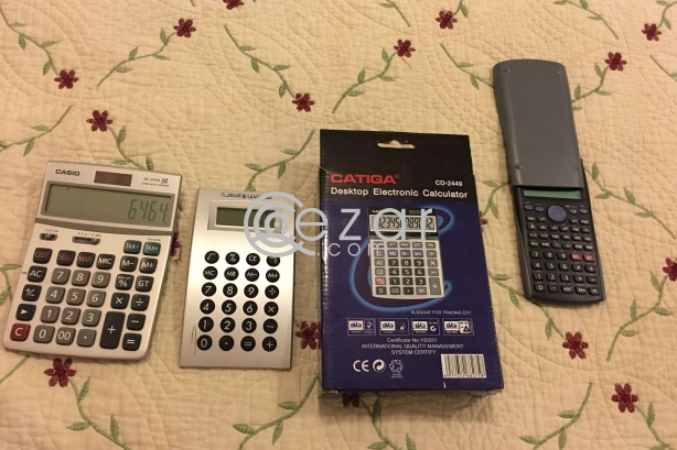 New Calculators for sale photo 5