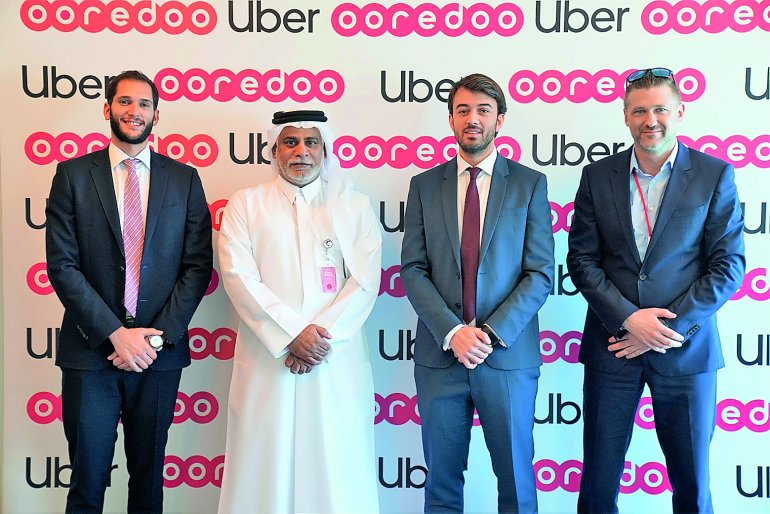 Ooredoo announces strategic partnership with Uber